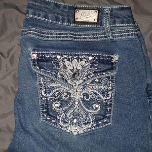 Earl jeans capris sz 14